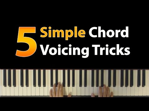 5 Simple Chord Voicing Tricks (Voicing in Fifths)