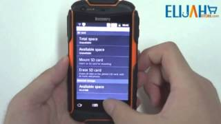Discovery V5 Review 4.0'' Capacitive Tri-proof Smartphone Dual Sim Dual Camera Android 4.0