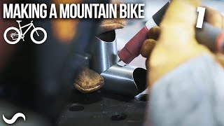 MAKING A MOUNTAIN BIKE!!! PART 1