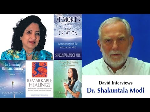 David Interviews Dr. Shakuntala Modi