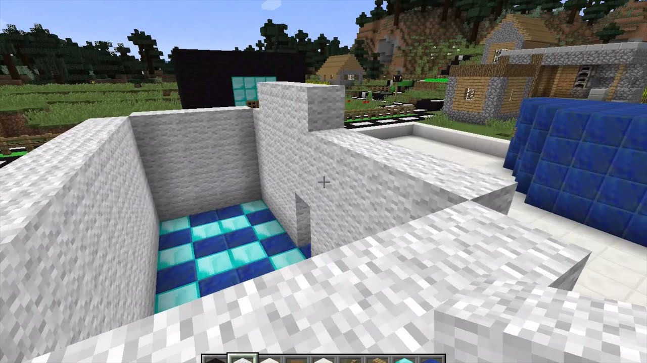 Minecraft dumb village to beautiful city 2 youtube minecraft dumb village to beautiful city 2 sciox Images