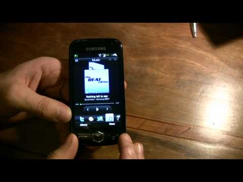 Samsung Omnia 2 with htc SENSE interface