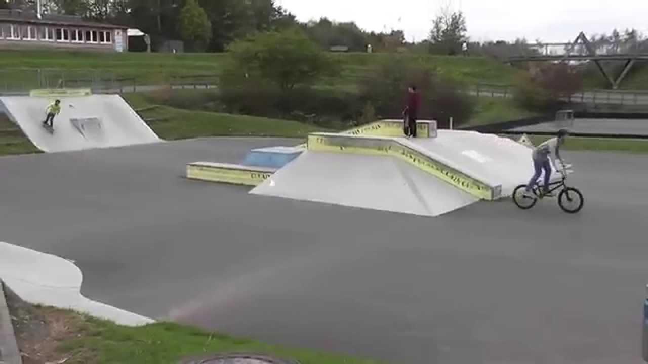 skatepark st wendel wendelinus park youtube. Black Bedroom Furniture Sets. Home Design Ideas