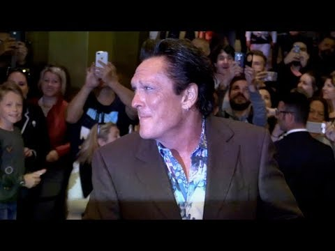 Michael Madsen putting on a show in Cannes