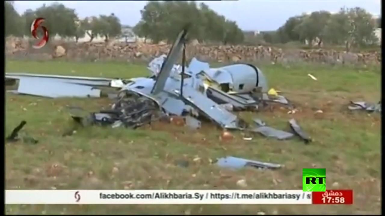 الجيش السوري يسقط طائرة مسيرة للقوات التركية في ريف إدلب - نقلا عن التلفزيون السوري