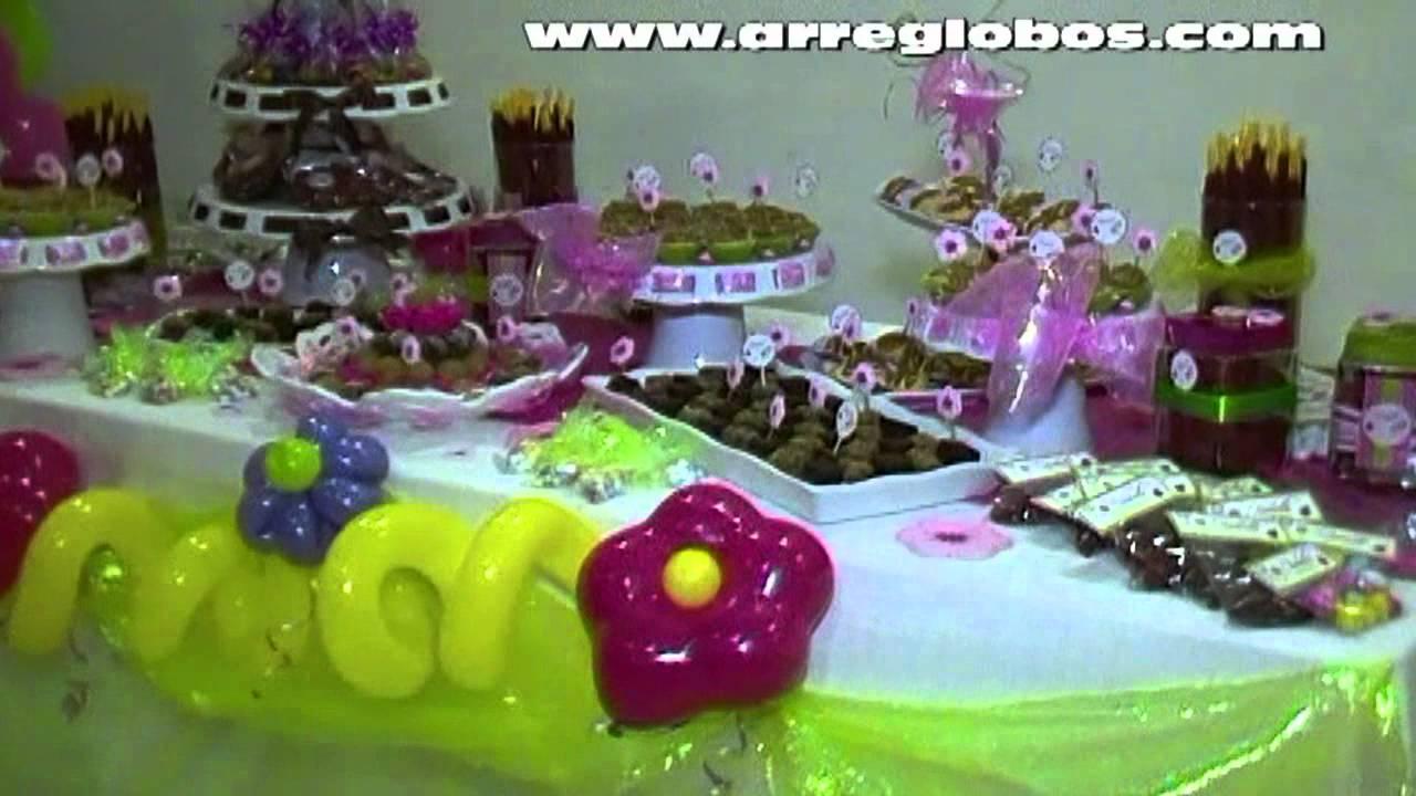 decoracion con globos baby shower isabella youtube