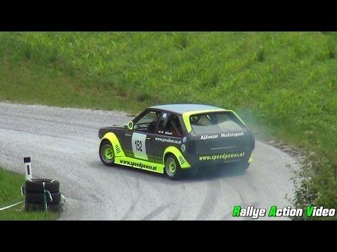 Manfred Aflenzer - VW Polo 16V - Bergrallye Naas 2014 [inkl.Onboard]