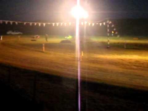 Bedrock Raceway Outlaw Kart Heat 1 08-19-11