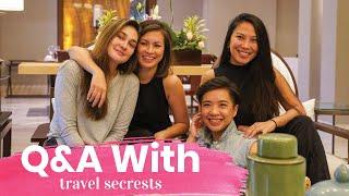 Travel Secrets Q&A - Luna Maya Travel Sendirian Kemana?