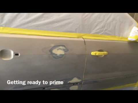 Doing Automotive Car Painting/Spraying 08 GMC Acadia