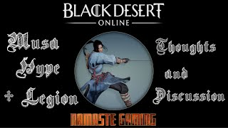 Black Desert Musa & Maehwa Chat + MOAR