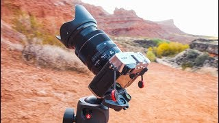 Fuji X-E3 - Hands on Landscape Review w 18-55mm - Snow Canyon Utah