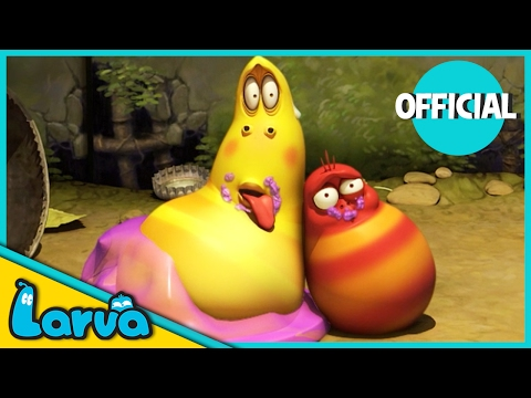 LARVA - PUDDING | Cartoon Full Movie |...