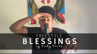 Video Big Sean - Blessings ft. Drake, Kanye West (Ficky Fresh Freestyle) download MP3, 3GP, MP4, WEBM, AVI, FLV Juni 2018