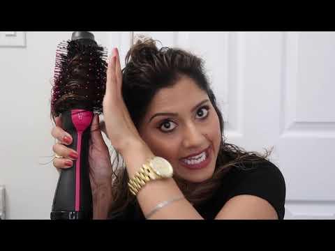 Hair Styling Tutorial-Revlon One-Step Volumizer Hair Dryer