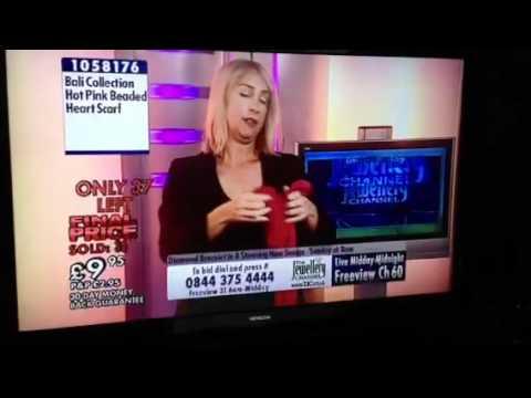 Drunk TV presenter
