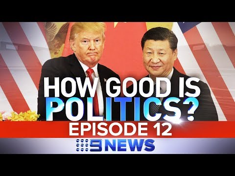 Trump's China trade war rattles the world | Nine News Austra