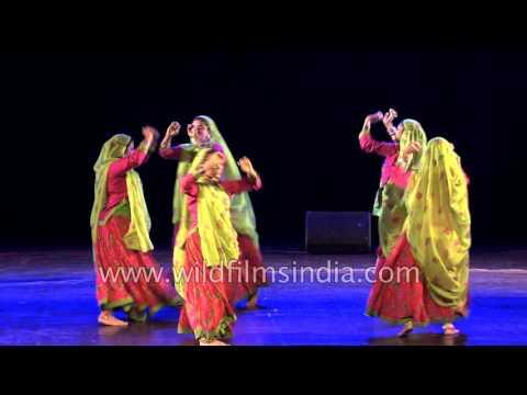 Avishkar folk dance group from Gujarat