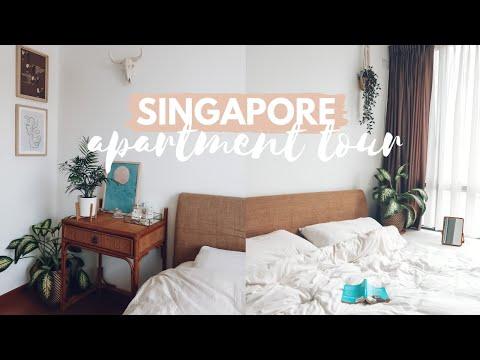 One Bedroom Singapore Apartment Tour! Georgia Caney