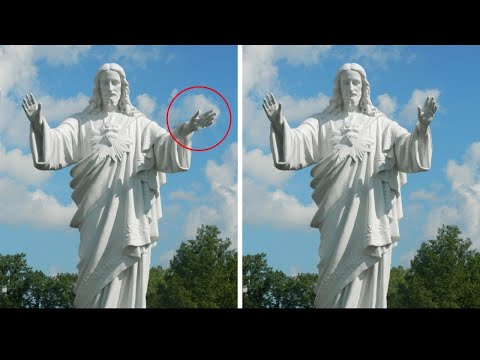 5 Most Mysterious Statues Caught Moving On Camera