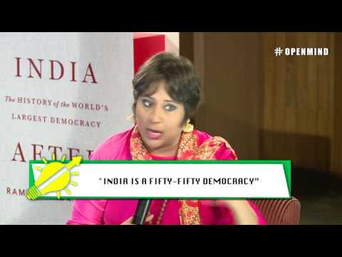 #OPENMIND: Barkha Dutt in conversation with Ramachandra Guha