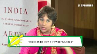 #OPENMIND: Barkha Dutt in conversation with Ramachandra Guha