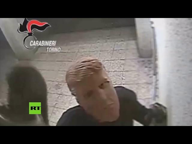 'Gemelos Trump' roban en un cajero automático