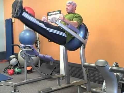 Core - Bosu-Supported Leg Raise Exercise - Leanness ...