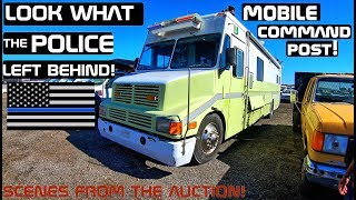 Video Look What The Police Left Behind Mobile Command Post! Scenes from the Auction! download MP3, 3GP, MP4, WEBM, AVI, FLV Oktober 2018