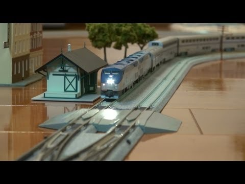 Model Railway Toy Train Scenery Mind-Blowing Concepts For Getting The Best From Your – Nscale Kato Amtrak Superliner with DCC sounds
