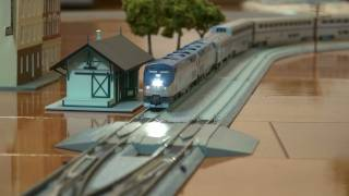 Nscale Kato Amtrak Superliner with DCC sounds