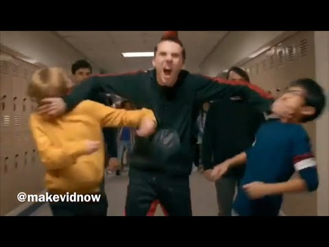 Cobra Kai S2 - Hawk Fights Everyone