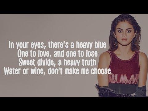 Selena Gomez – Wolves (Lyrics) ft. Marshmello