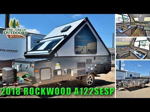 New Extreme Sport Pop Up Camper 2018 ROCKWOOD A122SESP Hard Sided RV Trailer Off Road Colorado