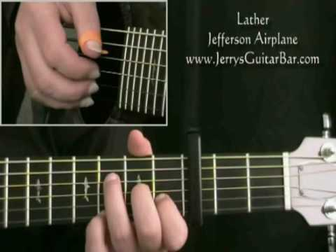 How To Play Jefferson Airplane Lather (intro only) mp3