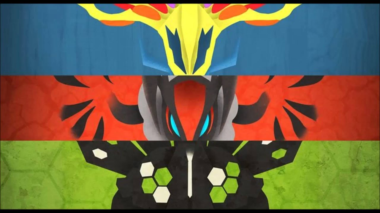 Pokemon XY Anime BGM - Battle Xerneas/Yveltal/Zygarde ... Xerneas Yveltal Zygarde Wallpaper