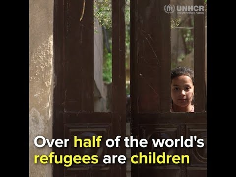 Over half of the world's refugees are children