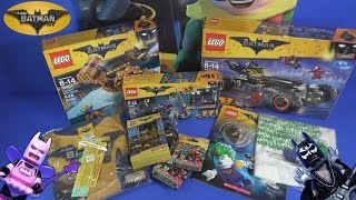 LEGO The LEGO BATMAN MOVIE Unpacking