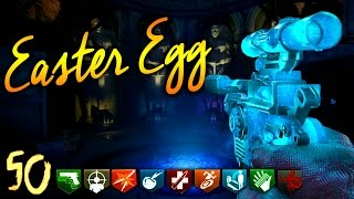"""🏆""""ORIGINS & MOON"""" REMASTERED ROUND 50 EASTER EGG ATTEMPT 🏆 (Zombie Chronicles DLC 5 Gameplay)"""