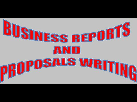 Business Reports And Proposal Writings Computer Education For All Unit 6