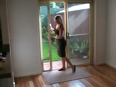 Patio Link Pet Door Insert Mpg Youtube