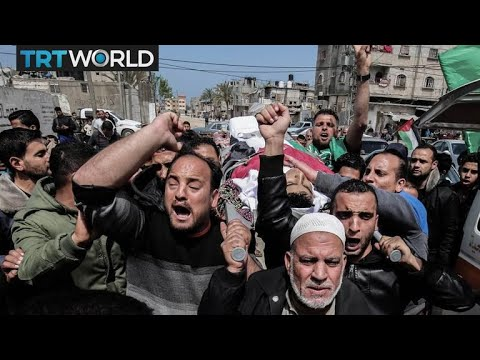 Israel - Palestine Tensions: Funerals held for protesters killed on Land Day