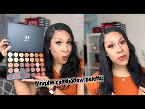 MAKEUP TUTORIAL FOR BEGINNERS:   HOW TO APPLY EYESHADOW IN MINUTES USING MORPHE 350 PALETTE