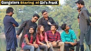 Gangsters Staring at Girl's PranK - Epic Reactions - In Kolkata | Ft. Funday Pranks