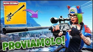 Is the NEW CECCHINO SILENZIATO IS FORT?! ROYAL VICTORY! FORTNITE ITA