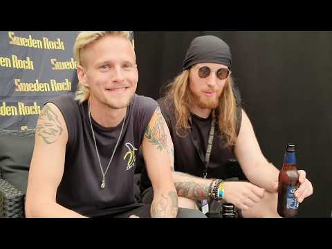 H.E.A.T - Interview At Sweden Rock 2019. (Intervju På Sweden Rock 2019)