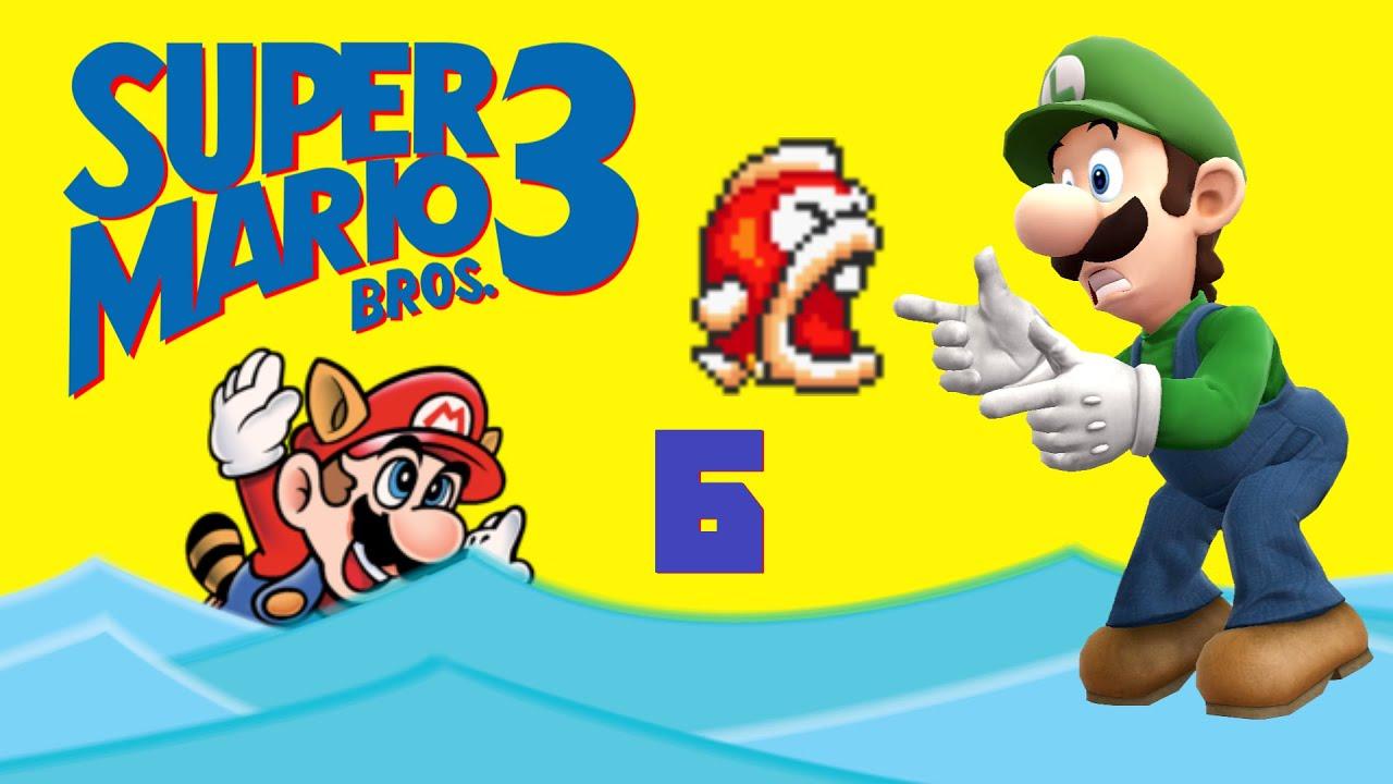 BIG BERTHA!!! - Super Mario Bros. 3 Ep. 6 - YouTube