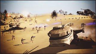 MASSIVE DROID ATTACK - Star Wars: Galaxy at War Mod Gameplay