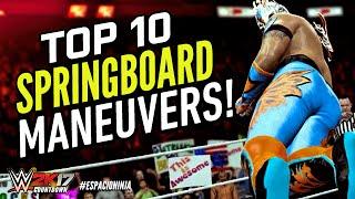 WWE 2K16 Top 10 Springboard Moves! | WWE 2K17 Countdown