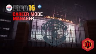FIFA 16 PC | Career Mode Manchester United Ep1